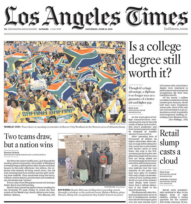 Los Angeles Times: BAM Communications